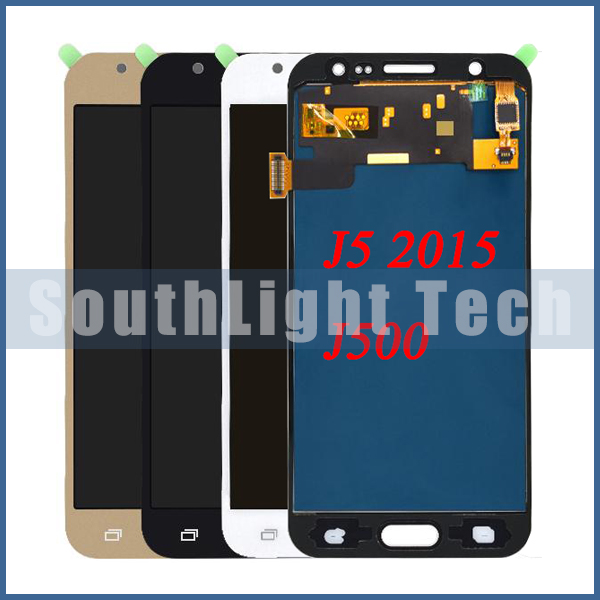 Grade AAA++ Super <font><b>Amoled</b></font> For Samsung Galaxy J5 <font><b>J500</b></font> J500F J500FN J500Y J500M LCD Display Touch Screen Digitizer Assembly Replace image