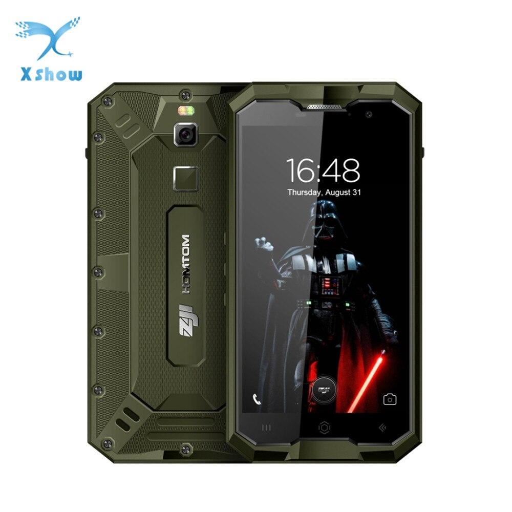 HOMTOM ZOJI Z8 IP68 Mobile Phone Fingerprint 4G 5 0 Inches Android 7 0 4GB RAM