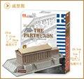 Образовательные игрушки 1 шт. творческий греция парфенон храм 3D бумага DIY известная модель строительные комплекты дети мальчик игрушка в подарок