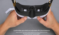 Walkera Goggle 3 FPV 3D Video 360 Degree 5.8G Outdoor FPV Aerial Glass Free Track Shipping