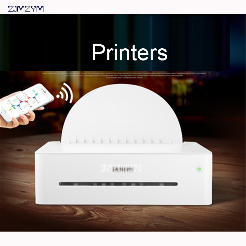 Noir et Blanc Imprimante Laser Une Machine Copie Numérisation Sans Fil Wifi Accueil Petit Bureau A4 Résolution D'impression 600*600 dpi 220 V LJ2208W