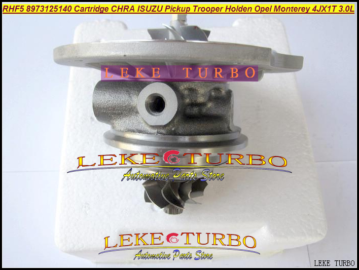 Turbo Cartridge Chra Core RHF5 8973125140 Turbocharger For ISUZU Pickup Trooper 98-05;For Opel Monterey 95-99 4JX1T 3.0L 157HP free ship turbo rhf5 8973737771 897373 7771 turbo turbine turbocharger for isuzu d max d max h warner 4ja1t 4ja1 t 4ja1 t engine