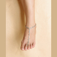 Fashion Vintage Jewelry Accessories Anklets lovely Anklet Women Body Chain Round Double Sexy Gifts Girl 1PC