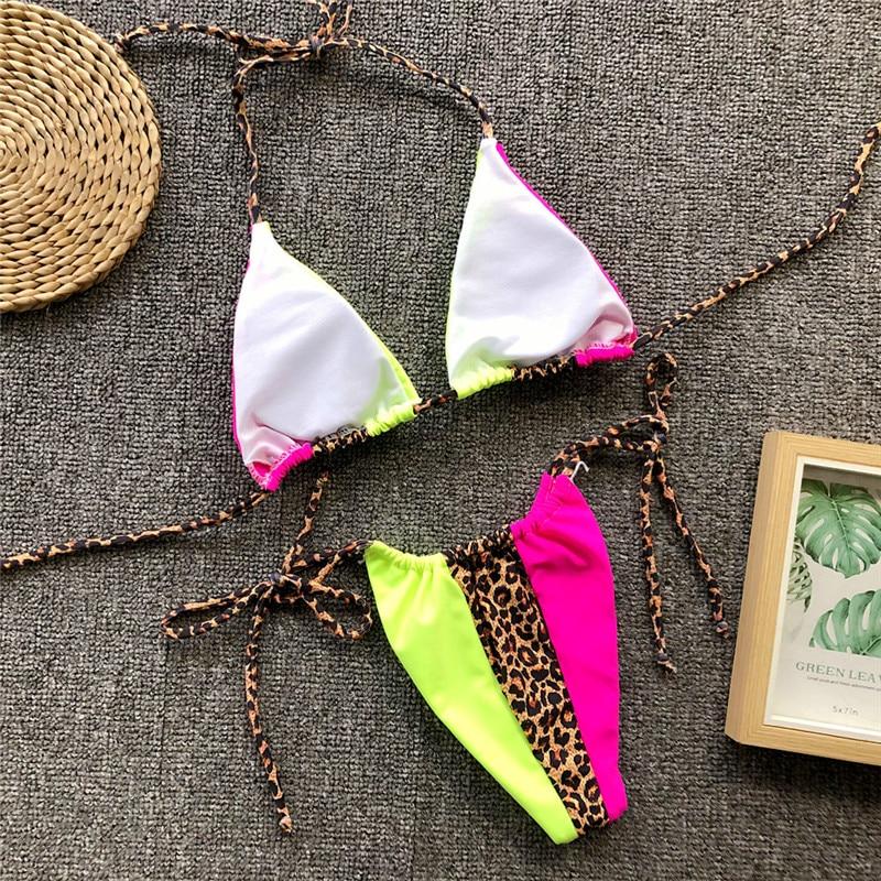 Bikinx Triangle leopard bikini 18