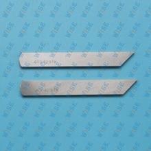 2 PCS LOWER KNIVES # 400-42378 FOR JUKI MF-7800 7900