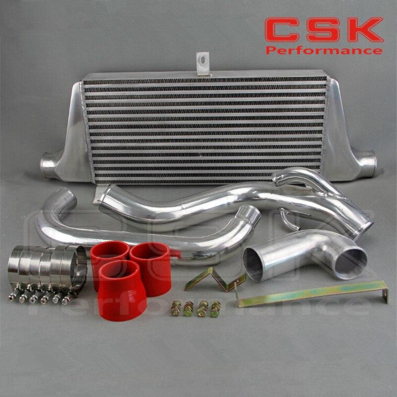 Front Mount Intercooler Kit Fits For Nissan Silvia S14/S15 Type 24E LS  SR20DET RED
