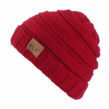 KLV Hat Unisex Boy Girls Warm Crochet Winter Wool Knit Ski Beanie Skull Slouchy Caps Hat(China)