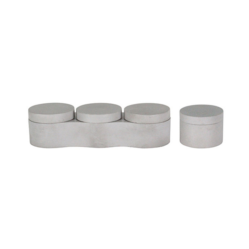Silicone Concrete Storage Box Molds Silicone Box Moulds With Lid Mold  3+1 Boxes