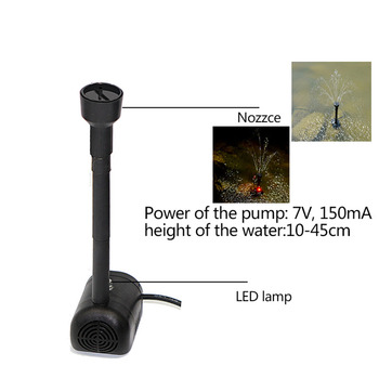 Fuente De Energía Solar | Nueva Fuente De La Bomba De Agua De La Energía Solar LED Automática Colorida Para La Piscina Del Estanque Del Lago Del Jardín