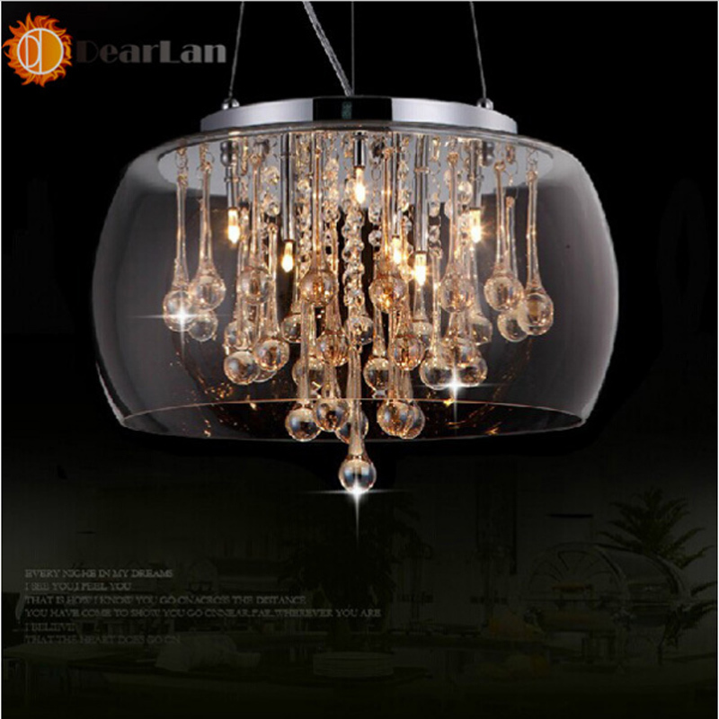 Modern K9 Crystal Pendant Lamps LED Pendant Lights Good Looking Pendant Lamps For Living Room/Dinning Room fashional black white pendant lamps good looking hanging lights for indoor decoration for dinning room living room rest room