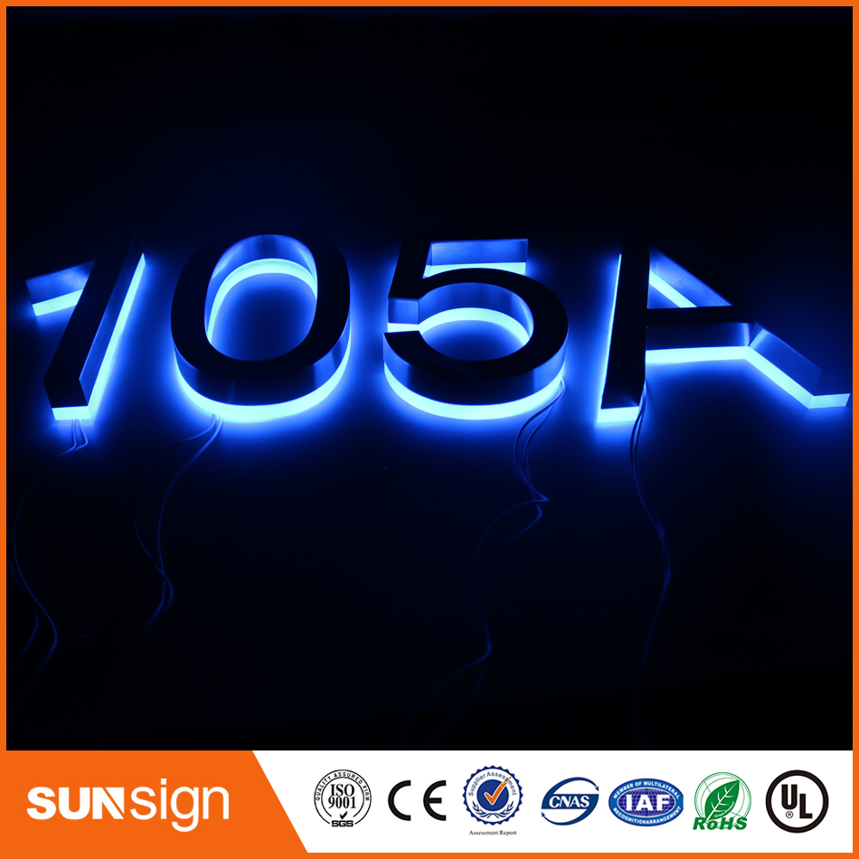 Popular led house numbers buy cheap led house numbers lots Led house numbers