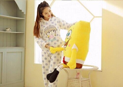 40cm Sponge Bob Baby Toy Spongebob And Patrick Plush Toy Soft Anime Cosplay Doll For Kids Toys Cartoon Figure Cushion