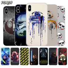 Fundas Silicone Phone Back Case For Apple iPhone 6 6S 7 8 Plus X 10 XS MAX XR 5 5S SE Heart Cover Star Wars Darth Vader Yoda чехол для iphone 7 глянцевый printio star wars yoda darth vader splitface