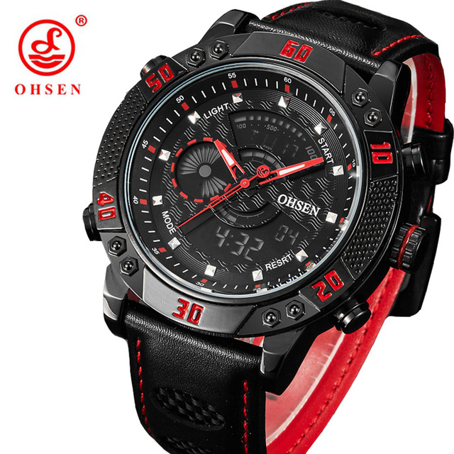 Fashion Spotrs Brand Waterproof Watch Men's LED Digital Watches Relogio Masculino Male Clock  Casual Military Wristwatches Xfcs