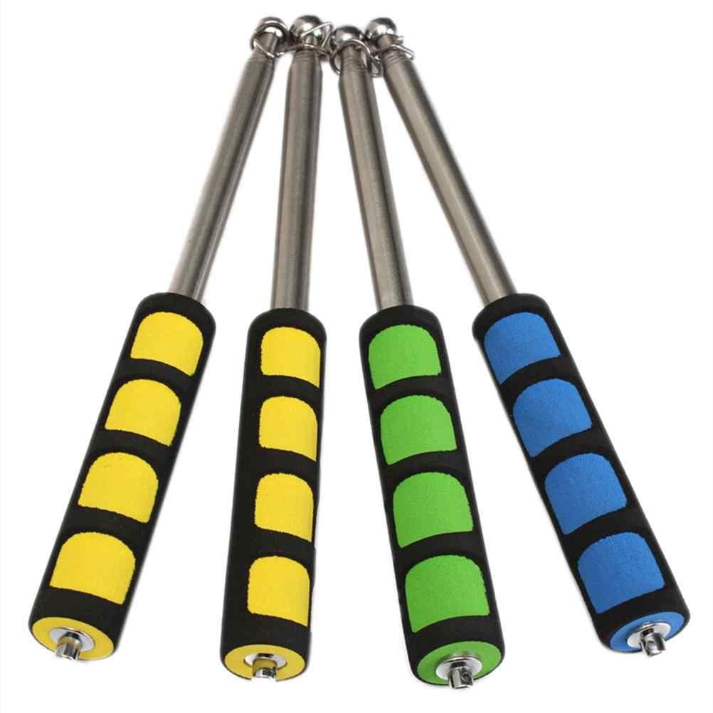 Новинка, 1 шт., Портативные Ручные палки для флагов, Windsock, 120 см, телескопический флагшток из нержавеющей стали