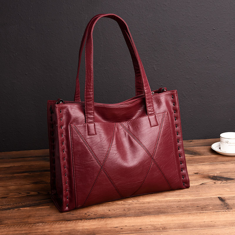 Chu JJ High Quality Genuine Leather Women's Handbags Fashion Big Size Women Tote Bags Women Messenger Bags Ladies Shoulder Bag neill katter жилет