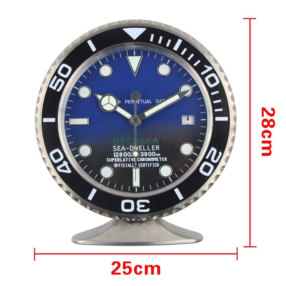 2019 Nueva llegada Reloj Sape Reloj de mesa Reloj de pared de metal - Decoración del hogar - foto 6