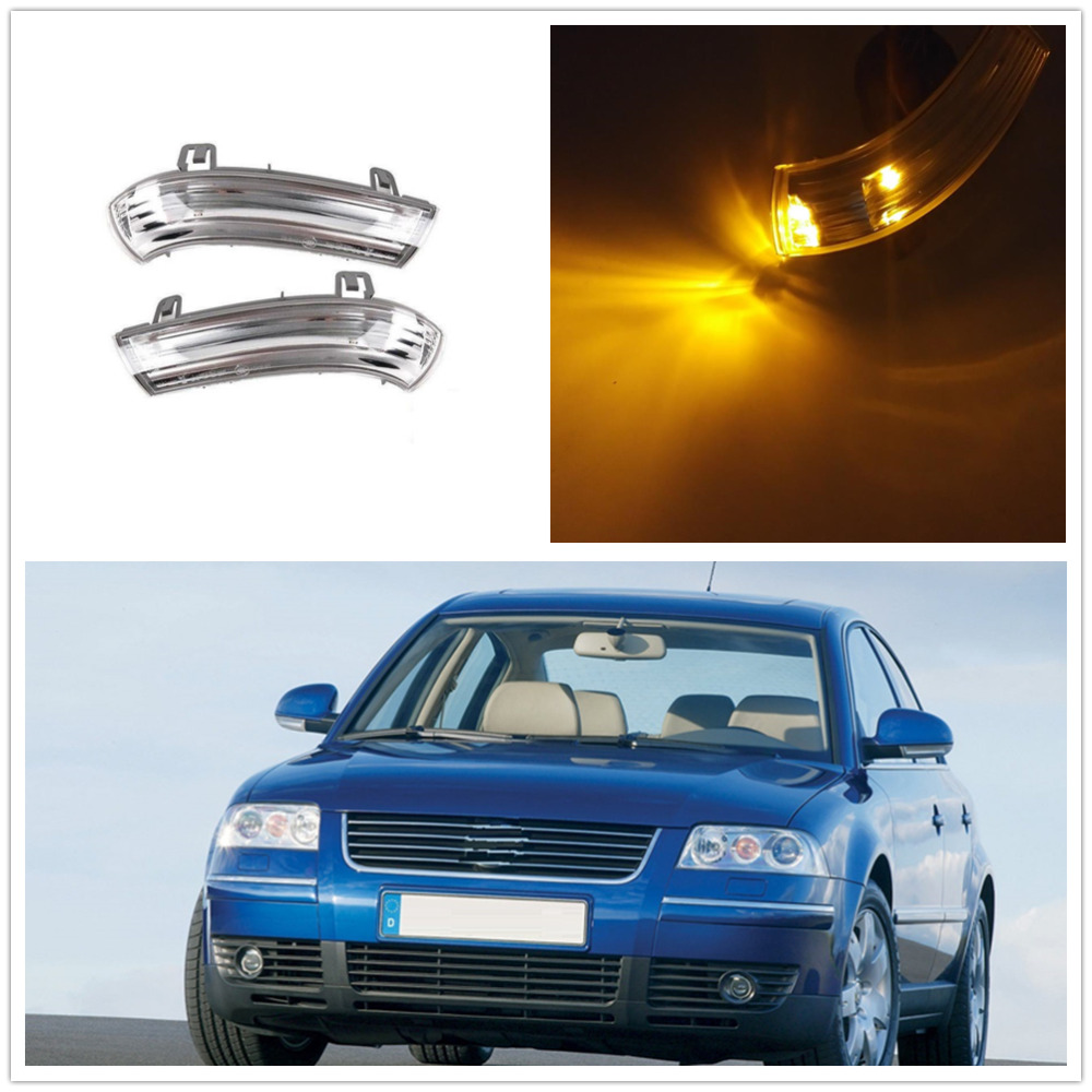 <font><b>LED</b></font> Mirror <font><b>Light</b></font> For <font><b>VW</b></font> <font><b>Passat</b></font> <font><b>B5</b></font> 2003 2004 2005 Door Side <font><b>LED</b></font> Mirror Turn Signal Indicator <font><b>Lights</b></font> image