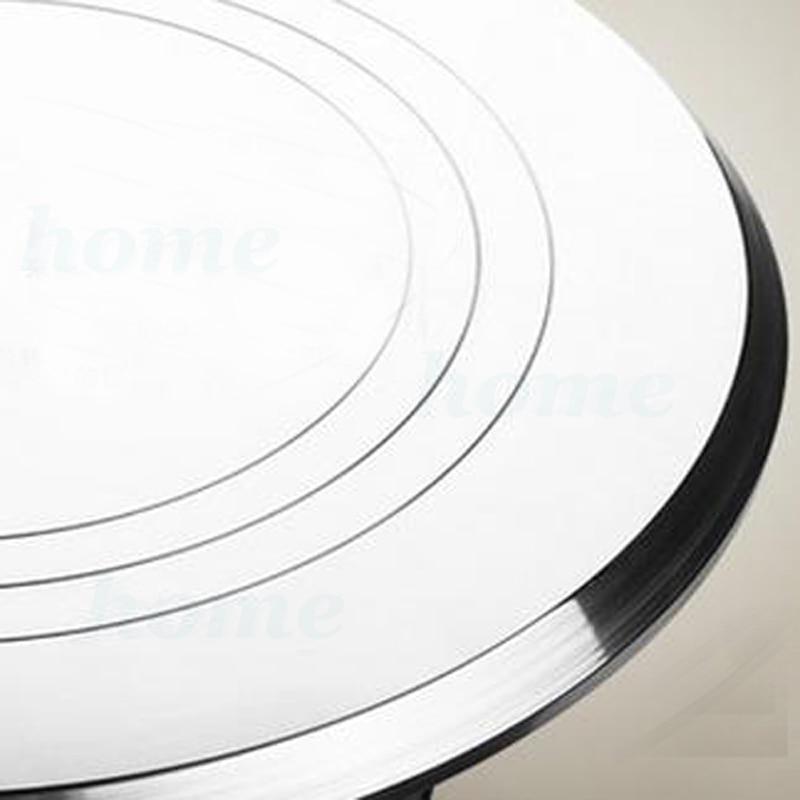 1pcs Cake Swivel Plate Revolving Aluminum Alloy Cake Turntable Decoration Stand Platform Turntable Baking Tools Home & Garden