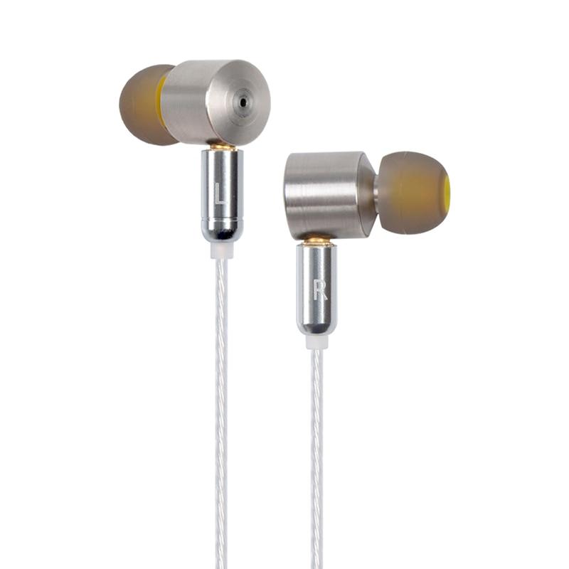 ZhiYin Z5000 In Ear Earphone Tesla Technology Dynamic Drive HIFI Metal Earphone With MMCX Detachable Bass