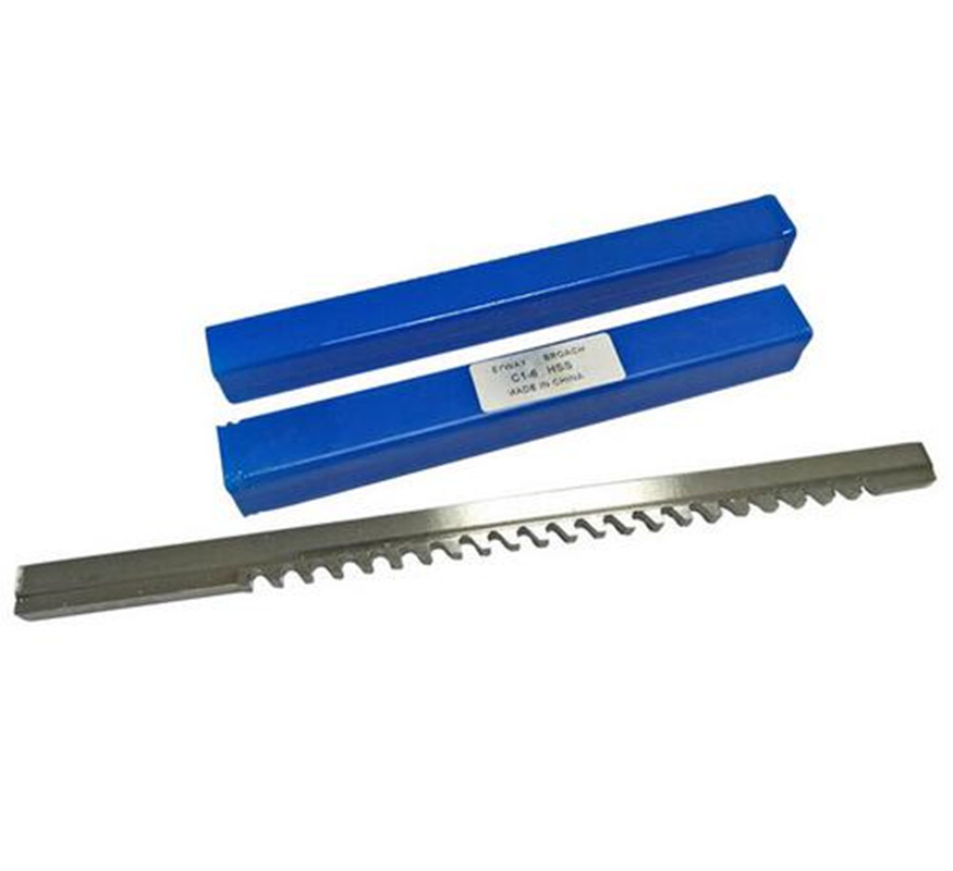 HSS 6mm C1 Push-Type Keyway Broach Metric Size HSS Keyway Cutting Tool For CNC Router Metalworking