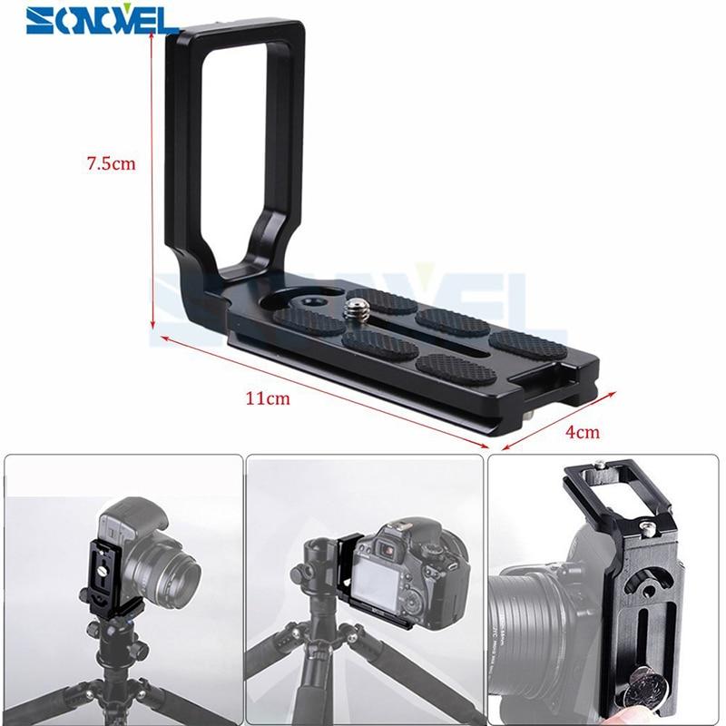 Quick Release L Plaque Support Grip Pour Nikon D7500 D7200 D7100 D7000 D5600 D5500 D5300 D5200 D3400 D3300 D750 D500 D4s D5