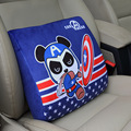 Car cushion feel super soft plush fabric space cotton cushion car waist pillow space memory cotton waist cushion