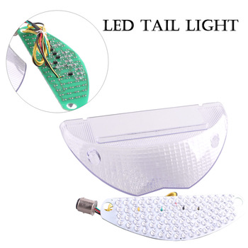 LED Rear Tail Light Brake Turn Signals Lamp Integrated Blinker For BMW F1200GS 2004-2007 F650GS 2005-2009 Motorcycle Spare Parts