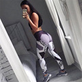 Leopard Print Sporting Leggings Women Fitness High Elastic Skinny Pants Fashion Clothing For Women Push-up Workout Leggings CK31
