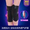 2016 nova Auto-aquecimento turmalina magnética do joelho almofadas artrite dor nas pernas homens e mulheres de tamanho completo pegajoso quente Joelheira