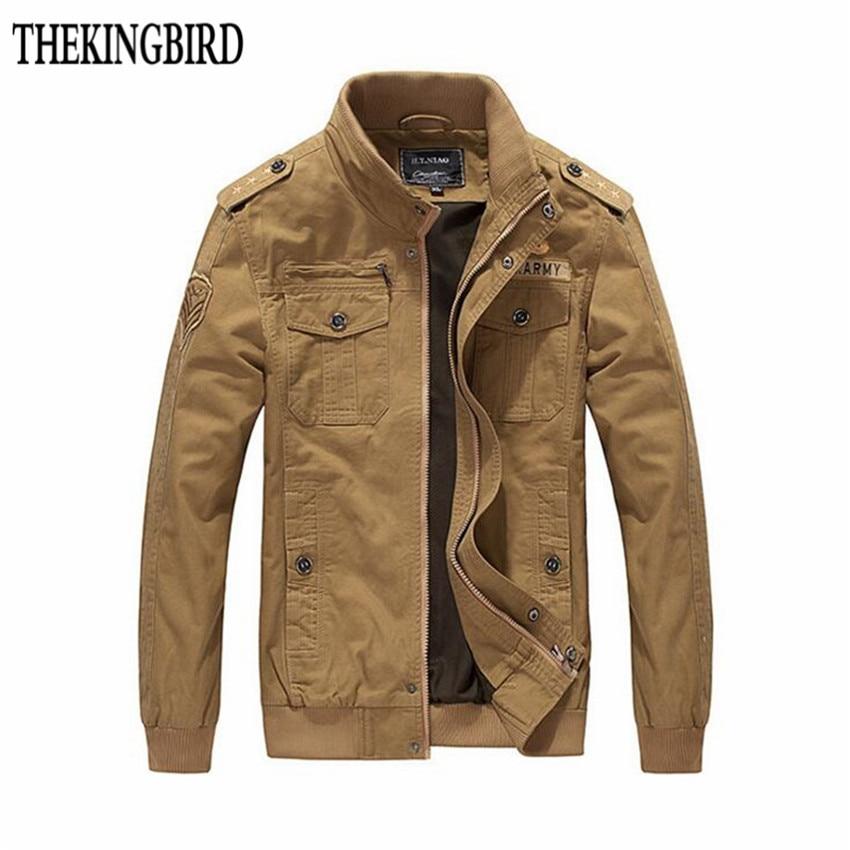 남성용 자켓 2016 신형 가을 재킷 코트 남성 빅 야드 영국식 스탠드 칼라 씻어서 깎은면 Frock Solid 4XL Black Spirng