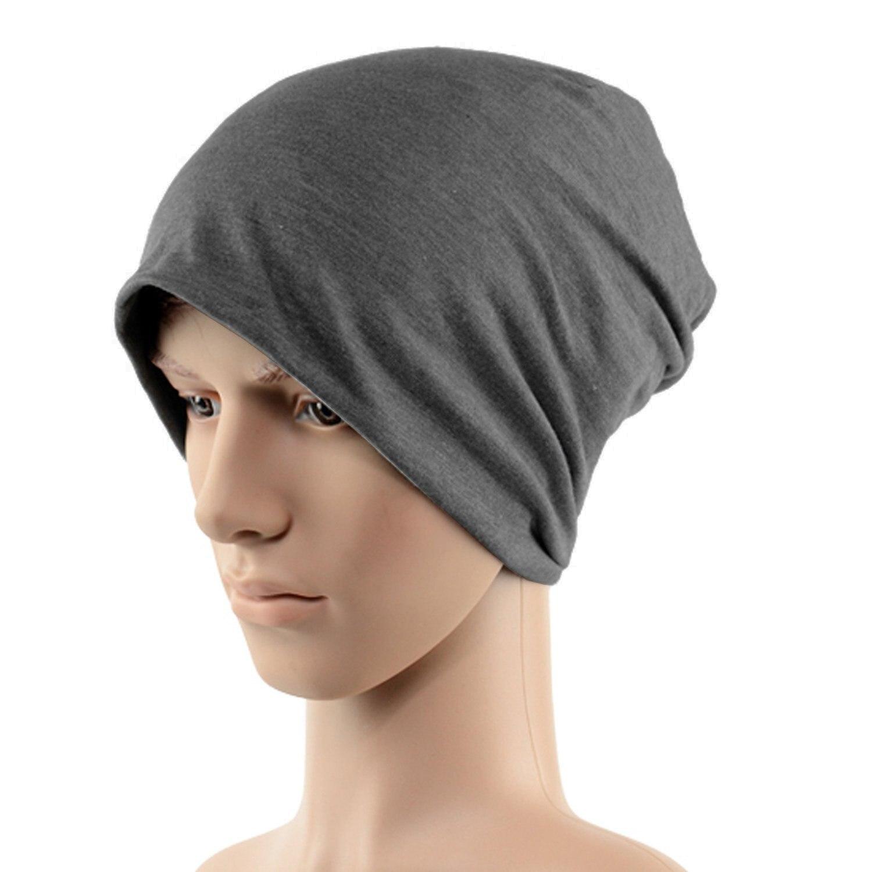 Inverno di Colore Solido Unisex di Hip-Hop Cap Beanie Cappello Floscio  Cappello Nero. Cappelli berretti uomini ... 9a9f4cc064b8