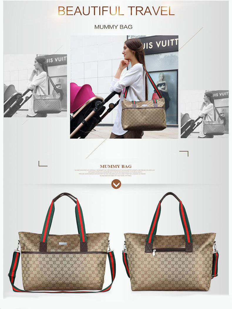 fc5b3e5aeed1 Европа высокого класса Мама сумка материнства Детские Путешествия ...