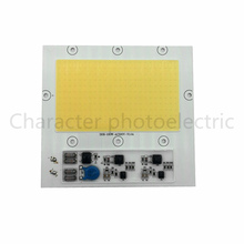 100W 220V COB LED 3000-3500K Warm white input lamp light source for integrated floodlight working