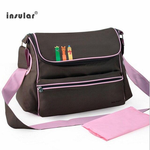 Mommy Baby Diaper Bag Nursing bag Maternity Large Capacity Multi-functional  Fashion  mom messenger bag 3 color free shipping