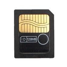 Authentique Carte mémoire intelligente multimédia intelligente, 3.3V/128 mo, SM, 128M, 3V