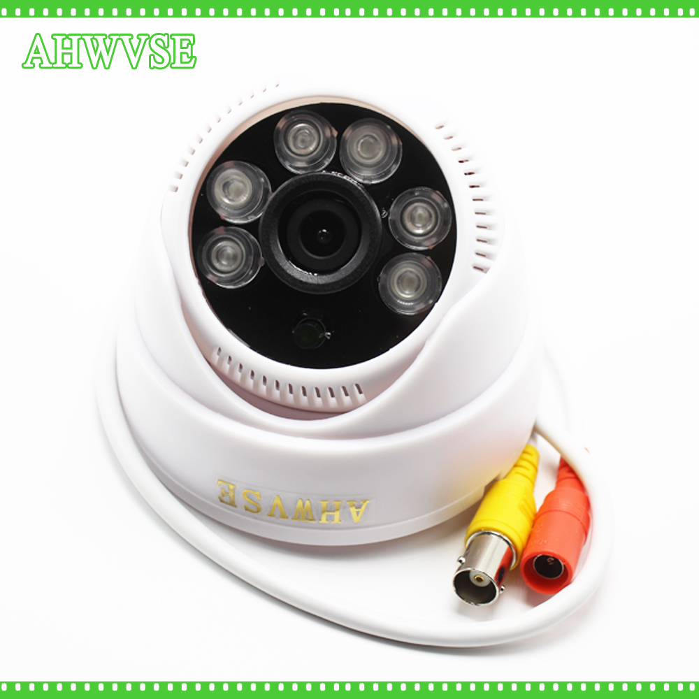 AHWVSE HD 1080P AHD Camera 2MP AHDH 3ARRAY IR LED Indoor Dome Surveillance Camera IR Cut Filter 4 in 1 ir high speed dome camera ahd tvi cvi cvbs 1080p output ir night vision 150m ptz dome camera with wiper