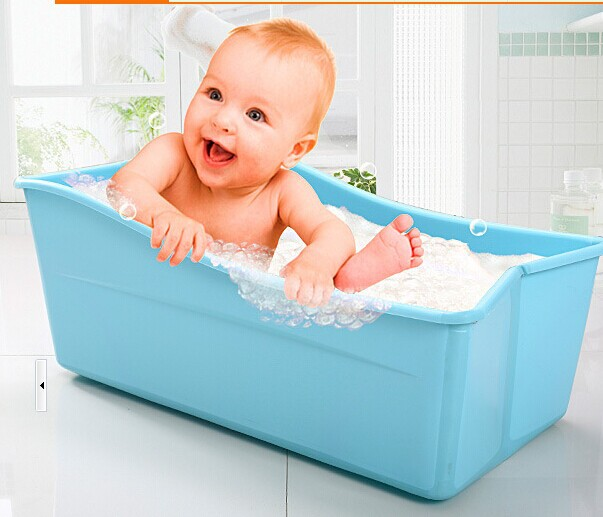 Adjustable Baby Bath Tub Plastic Bath Tubs Colorful Foldable Bathtubs For  Kids In Inflatable U0026 Portable Bathtubs From Home U0026 Garden On Aliexpress.com  ...