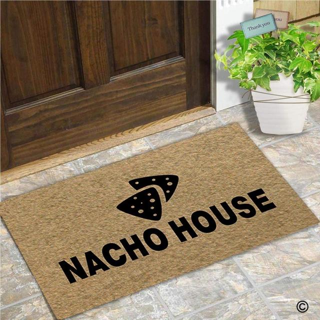 Memory Home Funny Door Mat Entrance Front Door Mat Nacho House Home Doormat  Indoor Decor Doormat