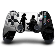 Game PS4 Controller Skin UNCHARTED 4 PVC Sticker Full Cover for Sony Play Station 4 Wireless Controller PS4 Accessory