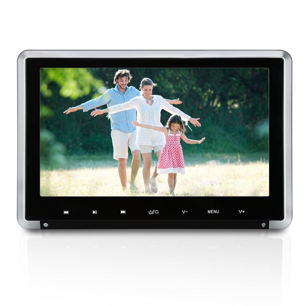 Naviskauto 10.1 дюймов подголовник автомобиля dvd-плеер HD 1080 P TFT ЖК-дисплей Экран подголовник Мониторы с HDMI Порты и разъёмы и Дистанционное управлен...