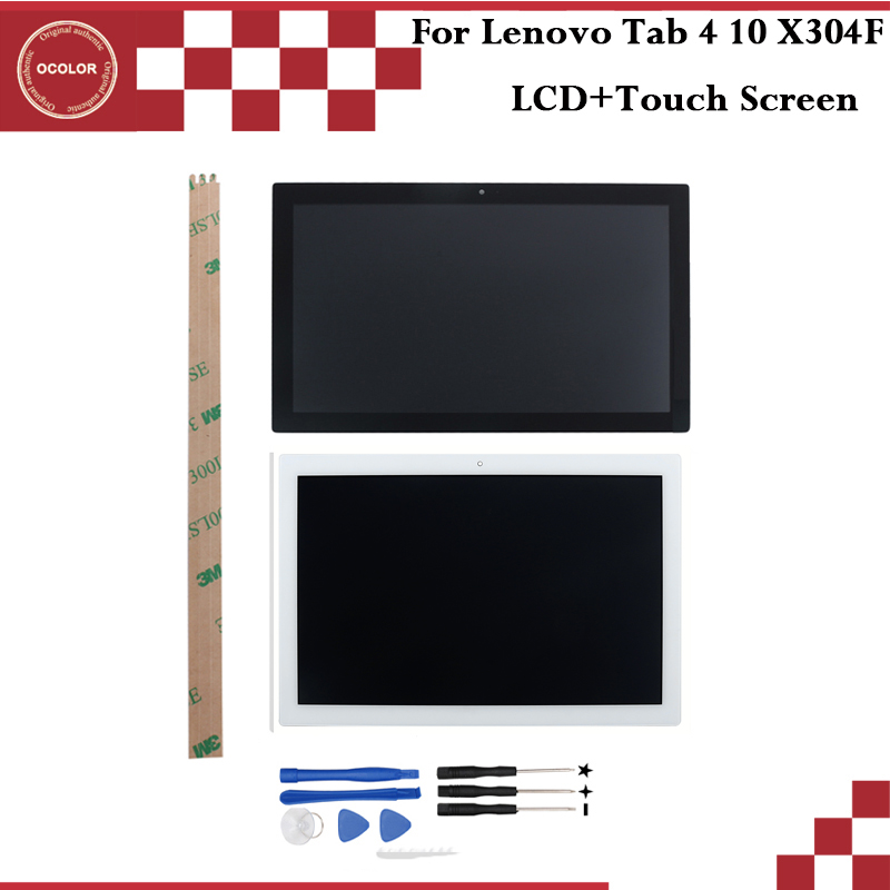 ocolor For Lenovo Tab 4 X304 X304N X304F LCD Display and Touch Screen Mobile Phone Accessories