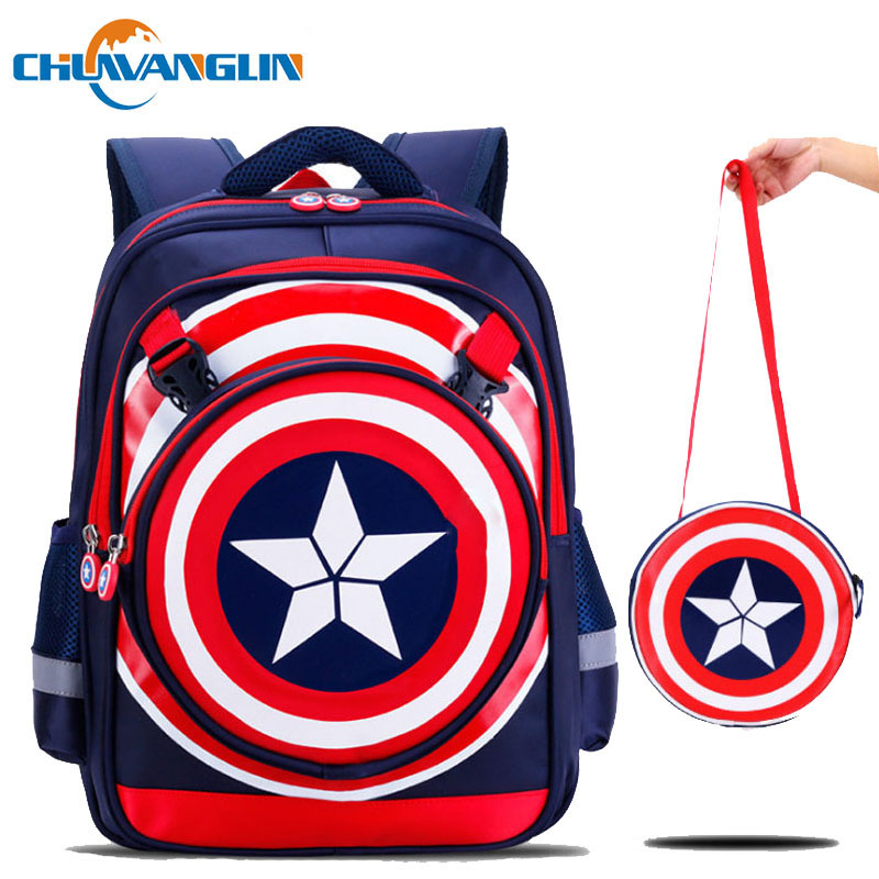 Chuwanglin Children School Bags For Girls Boys Kids Backpack School Backpack Suitable For 6-12 Years Old Kids Bag S0397