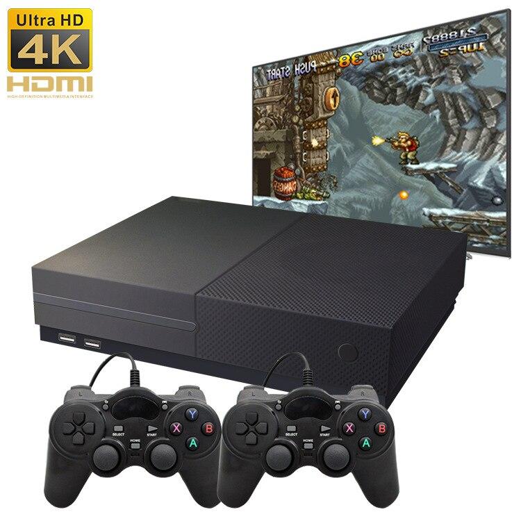 64 peu 4 k Hdmi Sortie Vidéo Rétro Jeu Console Avec 800 Classique Famille Vidéo Jeux Rétro Jeu Console 4g Mémoire TV X PRO
