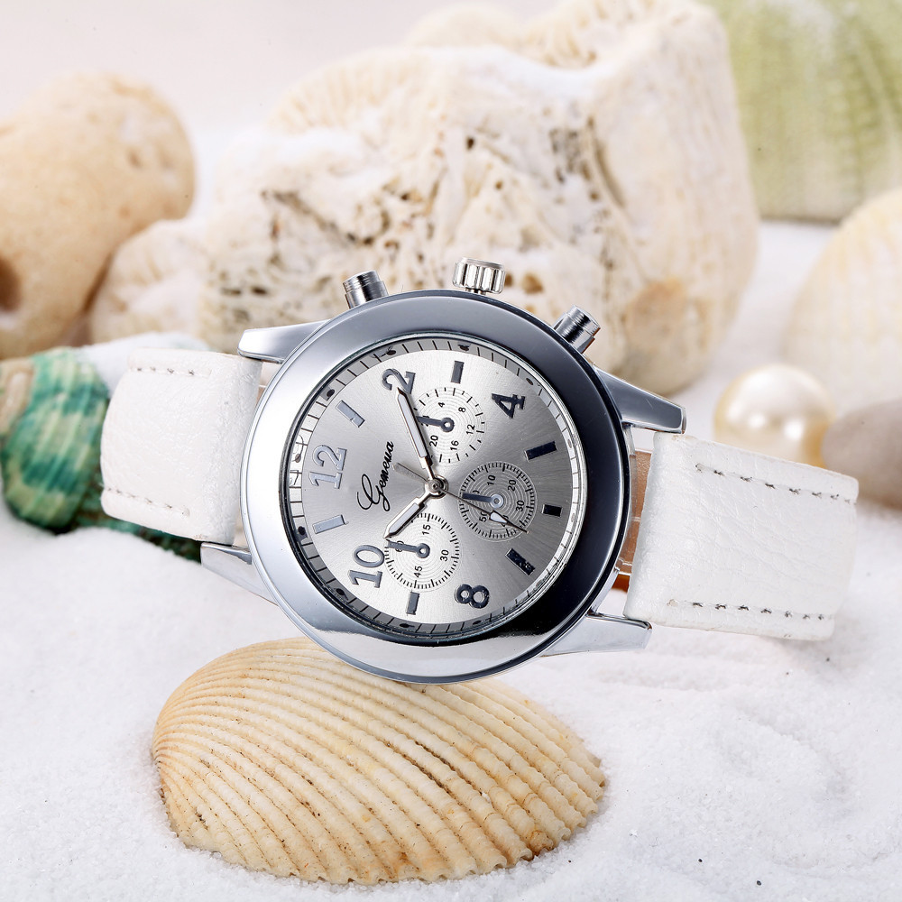 2018 New Arrival Ladies clock Women Casual Checkers Faux Leather Quartz Analog Wrist Watch Women's Watches relogio feminino cute cat watch women pu leather wrist watches vogue ladies casual analog quartz watch 2017 new fashion clock relogio feminino
