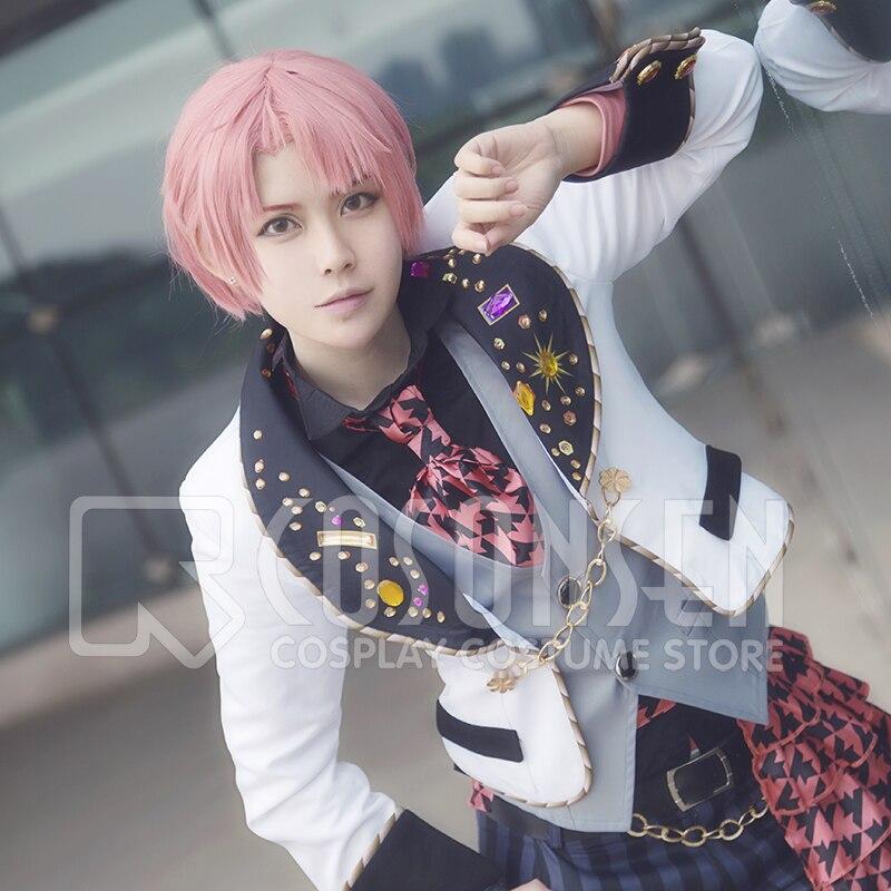 Anime IDOLiSH7 OP WiSH VOYAGE Mitsuki Izumi Uniform Fancy Dress Cosplay Costume All Sizes