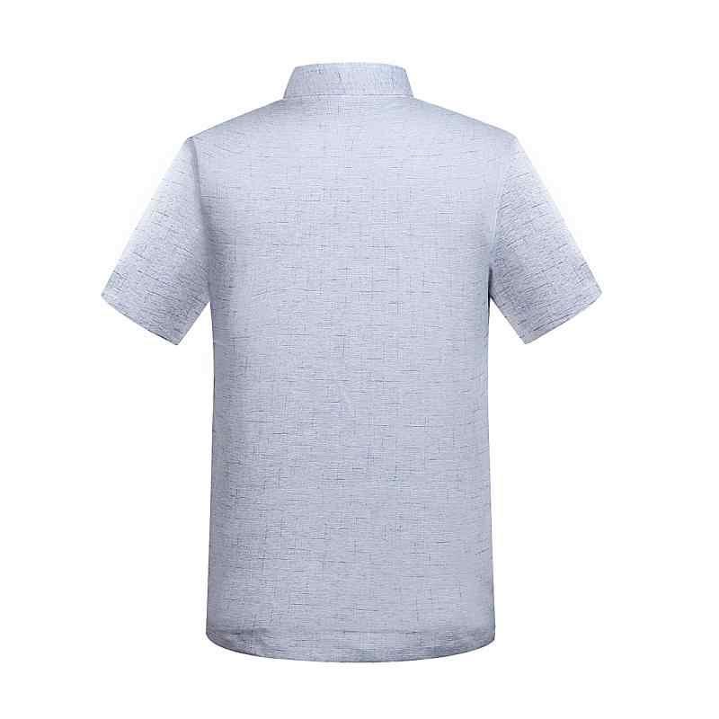 WAEOLSA 東洋男性リネン 2 個パンツスーツ夏男ベージュグリチュニックシャツとパンツセット男性刺繍アンサンブル tangzhuang