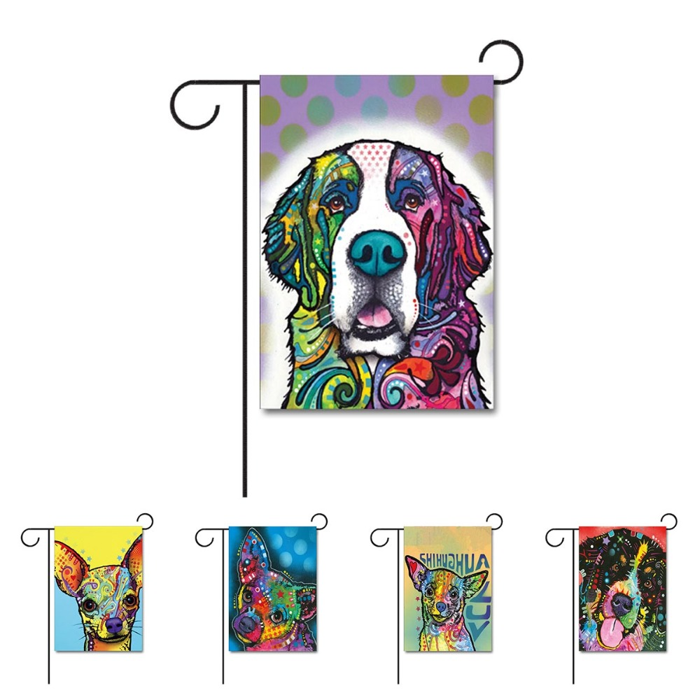 っDog Home Decorative Garden © Flag Flag Design With Saint