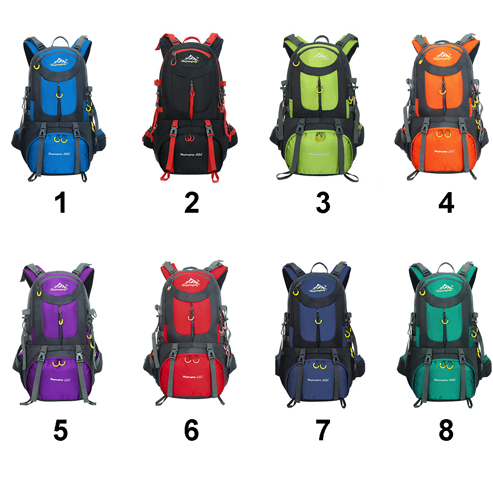 Impermeabile 40l Viaggiare fruit purple Blue Di black Sport Del Nylon Trekking Blue Green Esterno peacock Campeggio Zaino In Arrampicata Per orange dark Sky Blue Zaini red Da Sacchetto 50l aaRxg5r