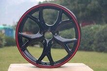 4 Novo 17×7.5 Jantes rodas et 42mm jantes De Liga Leve Jantes W313 para Mazda